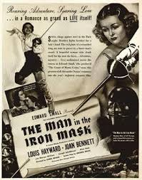man in the iron mask 1939