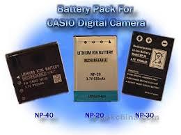 camera battery packs