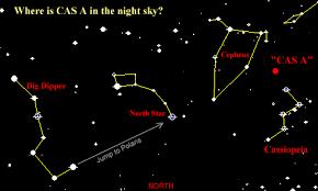 night sky maps