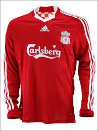 liverpool jersey 09