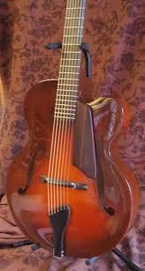 acoustic jazz guitar