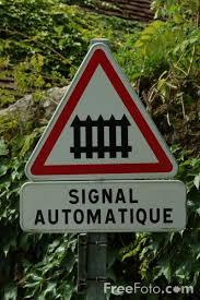 rail road signs