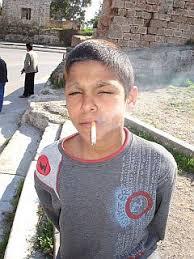 kids and smoking