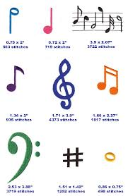 all the music notes