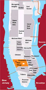 new york city attractions map