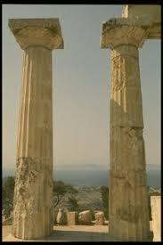 doric style column