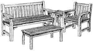 garden furniture plans
