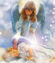 dibujos de angeles de amor