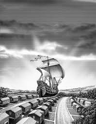 sailing ship art