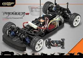 thunder tiger rc car