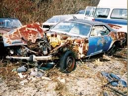 muscle car junkyard