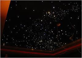 fiber optics star ceiling