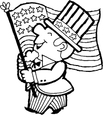 patriotic coloring book