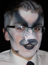 animal face make up