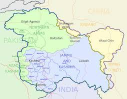 pakistan kashmir map