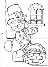 peter cottontail coloring pages