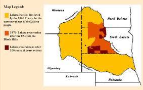 lakota map