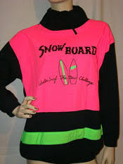 neon 80s clothes