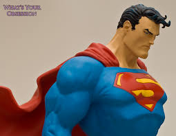 jim lee superman statue