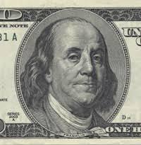 100 dollar bill face