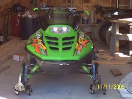1997 arctic cat zr 580