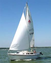 columbia sailboats