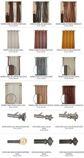 different types of curtains