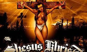 black christian art