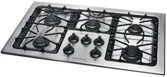stainless steel kitchen stoves