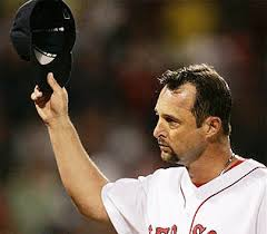 Tim Wakefield is second