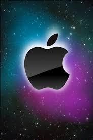 iphone logo wallpaper