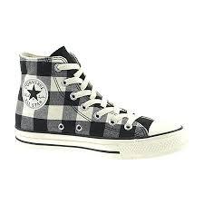 plaid converse shoes