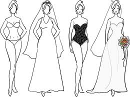 flattering wedding dresses