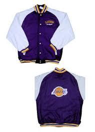 lakers varsity jacket