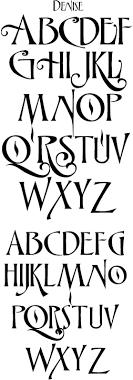 fonts art nouveau