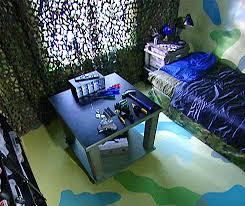 boys camo bedroom