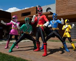 My son was a big Power Rangers