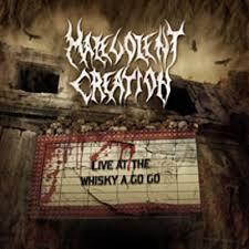 malevolent creation dvd