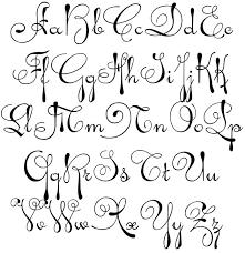 alphabet in block letters