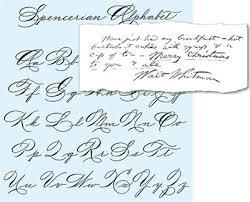 english alphabet handwriting