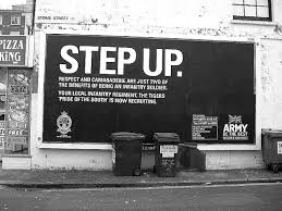 british army recruitment poster