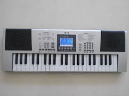electronic key board