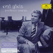 emil gilels beethoven sonatas