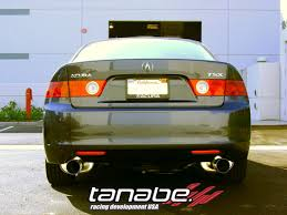 acura tsx exhaust
