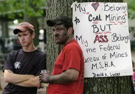 coal mine fire