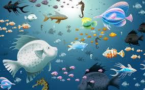 aquarium desktop theme