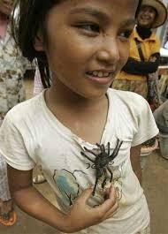 girl spider