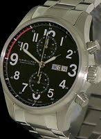 hamilton khaki officer auto chrono