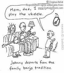 musical instruments cartoons