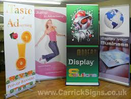 banners stands